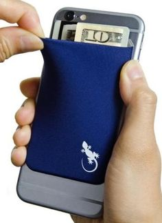 Elastic Stretchy Lycra Cell Phone Wallet Case