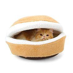 QHGstore Haustier-Haus-Nest-Kissen-Bett-Katze Schlafen Ha... https://www.amazon.de/dp/B01CTVIPEA/ref=cm_sw_r_pi_dp_x_CgKOxb7A9MAWA