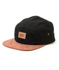 aaf24d77e0ae1 Clean up your style with a faux leather Obey patch embroidered on a black  low-