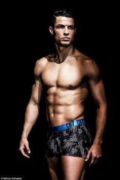 Cristiano Ronaldo displays fit physique in new underwear campaign Cristiano Ronaldo Cr7, Cr7 Vs Messi, Cr7 Underwear, Underwear Brands, Real Madrid, Sports Stars, Sport Man, Soccer Players, Physique