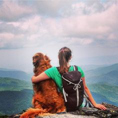 There's nothing better than spending quality time hiking with your dog. #campingwithdogs @tuckonthetrail