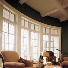 Architectural Windows | Bow Wood Window by Andersen | Architectural Photos