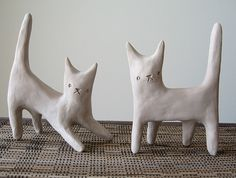 Clay Kitties | Flickr - Photo Sharing!