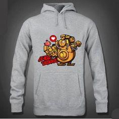Fleece League of Legends hoodie for men XXXL Blitzcrank pullover hoodies