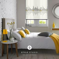 Roller Blind by Eclipse - Skyline New York Fabric