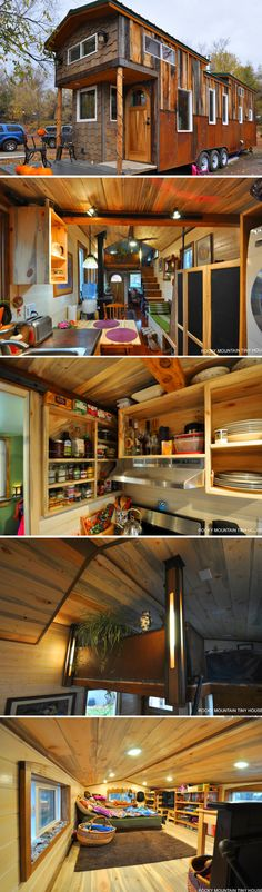 The Red Mountain tiny house from Rocky Mountain Tiny Homes