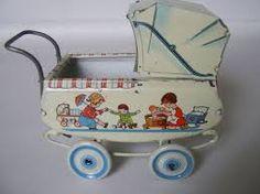 Image result for antique dolls pram