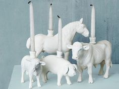 Maybe not as candle holders, just object. Recycled Craft Ideas :: P… Love these! Maybe not as candle holders, just object. Recycled Craft Ideas :: Plastic animals – Country Living Pin: 500 x 575 Party Animals, Animal Party, Zoo Animals, Diy House Projects, Cool Diy Projects, Craft Projects, Crafts To Make, Kids Crafts, Easy Crafts