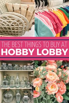 Find the BEST things to buy at Hobby Lobby right here! hobby for guys for men ideas for men projects for women lobby decor lobby diy lobby farmhouse lobby store products lobby wall art that make money to try hobby room Easy Hobbies, Hobbies To Take Up, Cheap Hobbies, Hobbies For Women, Hobbies That Make Money, Hobby Lobby Crafts, Hobby Lobby Decor, Hobby Lobby Flowers, Hobby Craft