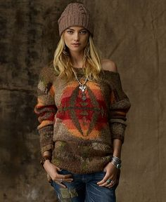Denim & Supply Ralph Lauren Sweater, Beacon Long Sleeve Crewneck