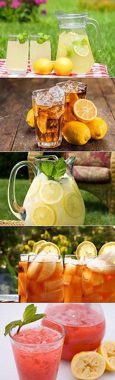 Домашний лимонад! Топ 5 рецептов!.