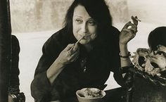 Lina Bo Bardi-Italian architect.  Interesting face.
