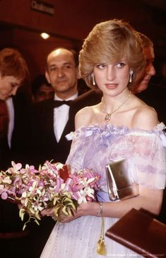 HRH Diana, Princess of Wales. December 2, 1982: Prince Charles & Princess Diana at the movie premiere of the film 'Gandhi' in London.