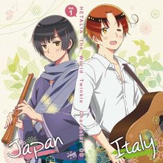 Hetalia (ヘタリア) - The World Twinkle Character CD 1 - Japan & North Italy