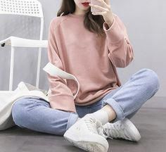 New Fashion Winter Outfits Casual Pants 45 Ideas Korean Casual Outfits, Simple Casual Outfits, Casual Winter Outfits, Winter Fashion Outfits, Casual Jeans, Jeans Style, Fashion Clothes, Dress Fashion, Jeans Fashion