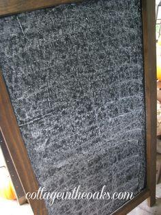 chalkboard seasoning