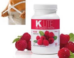 K Lite With Raspberry Ketones Take one a day of our high potency, natural fruit extract diet supplement. Combine with K Lite Boost to speed up effectiveness.