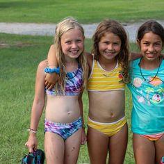 Little Girl Swimsuits, Seafarer, Kids Swimwear, Little Girls, Button, Sexy, Bikinis, Fashion, Moda