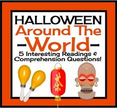 This resource includes 5 non-fiction texts (one page each) that introduces students to Halloween traditions, practices, and customs from different countries! The countries covered are Ireland, Mexico, Romania, Nigeria, and China. This is an excellent cross-curricular activity as it connects well with Social Studies!