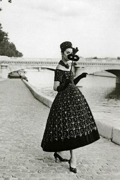 Vintage Dior...reasons I wish we still dressed like this