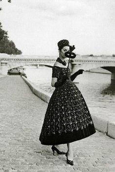 Vintage Dior...reasons I wish we still dressed like this