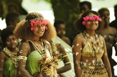 Girl from the island of Ngella in the Solomon Islands