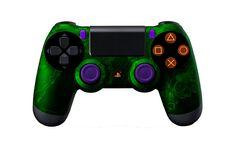 PS4Controller-GreenZombieHazard | Flickr - Photo Sharing! #moddedcontrollers #customcontrollers #ps4controllers #playstation4 #dualshock4 #PS4 #customps4controllers #moddedps4controllers