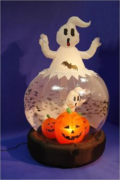 inflatable halloween globe - Google Search