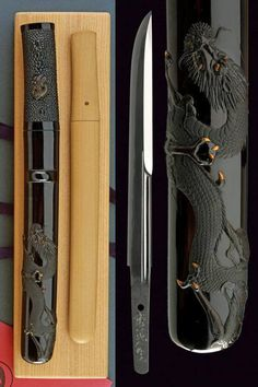 A Kanmuri otoshi tanto by Yoshindo Yoshihara in koshirae by Tomizo Saratani dating: ei Period (1989) provenance: Japan