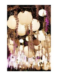 Hanging Wedding Decor (tips To Do It Right) « David Tutera Wedding Blog • It's a Bride's Life • Real Brides Blogging til I do!
