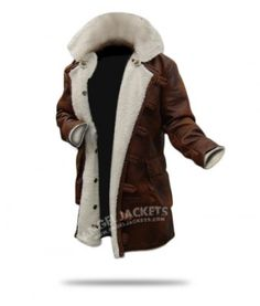 $199.00 - Dark Knight Rises Bane Coat Jacket Costume made of Sheepskin is available for Sale. Also Buy The Dark Knight Leather Jacket Costume on low price at AngelJackets online store.