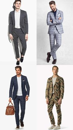 The Men Suit for Spring Summer  The Patterned Suit Lookbook Inspiration d262f64d30f6