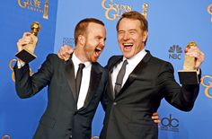 Golden Globes, where Breaking Bad series' final season picked up the prize for Best TV Drama.