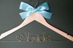 10.00....GRAND OPENING Special Sale...Wedding Dress Hanger...Bridesmaids. $10.00, via Etsy.