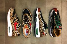 atmos x Nike Air Max 'Animal Pack 2' Releasing During 2018