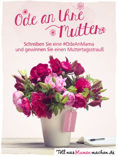 Ode an Mama! #muttertag #blumen #flower #twbm #mutter