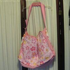 Reconstructed Recycled EcoFriendly Tote Bag by GoodKharmaReThreads, $34.99