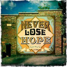 Mural for Hope Street by Dan Biggs, Cambridge UK via @MandyPrintmaker