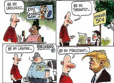 Best Donald Trump Cartoons: Be My President