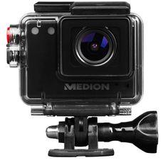 MEDION LIFE S41004 MD 87157 Full HD Action Camcorder 5.0 MP wasserdicht 140°