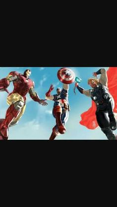 The avengers iron man captain america and thor wallpaper Find in this article, HD Wallpaper for your Desktop, Mobile. High quality image for you. Avengers 2012, The Avengers, Avengers Cartoon, Maria Hill, Paul Bettany, Marvel Comics, Marvel Heroes, Jeremy Renner, Chris Hemsworth