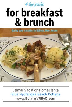 4 Top Picks For Breakfast U0026 Brunch During Your Vacation In Belmar | New  Jersey Shore