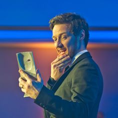 "Photo: ""James McAvoy accepts his award for Actor Film for Filth "" British Academy Scotland Awards: Ceremony in 2014 