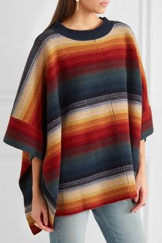 Multicolored merino wool and cashmere-blend Slips on 90% merino wool, 10% cashmere Dry clean Made in Italy