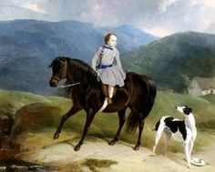 Master Edward Coutts Marjoriebanks on his Pony, c.1851 Fine Art Print by Abraham Cooper Greyhound Kunst, Web Gallery, Classic Paintings, Victorian Art, Equine Art, Recital, Horse Art, Beautiful Dogs, Dog Art