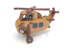 Sikorsky H-34 by Lloydswoodtoyplans on Etsy