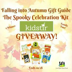 The Spooky Celebration Kit from Kidstir Giveaway! Ends 10/18 @Kidstir @SMGurusNetwork ~ Tales From A Southern Mom