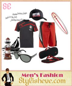 Men's Summer Beach Clothes and Acessories