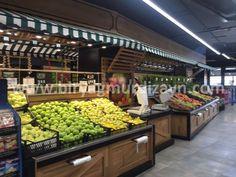 Carnicerias Ideas, Fruit And Veg Shop, Supermarket Design, Showroom Design, Grocery Store, New England, Veggies, Fresh Start, Food