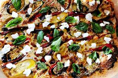 I've been on a pizza jag, and am including no fewer than five new pizza recipes in my next cookbook. As a matter of fact, one...